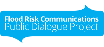 The Flood Risk Communications Public Dialogue Project Logo